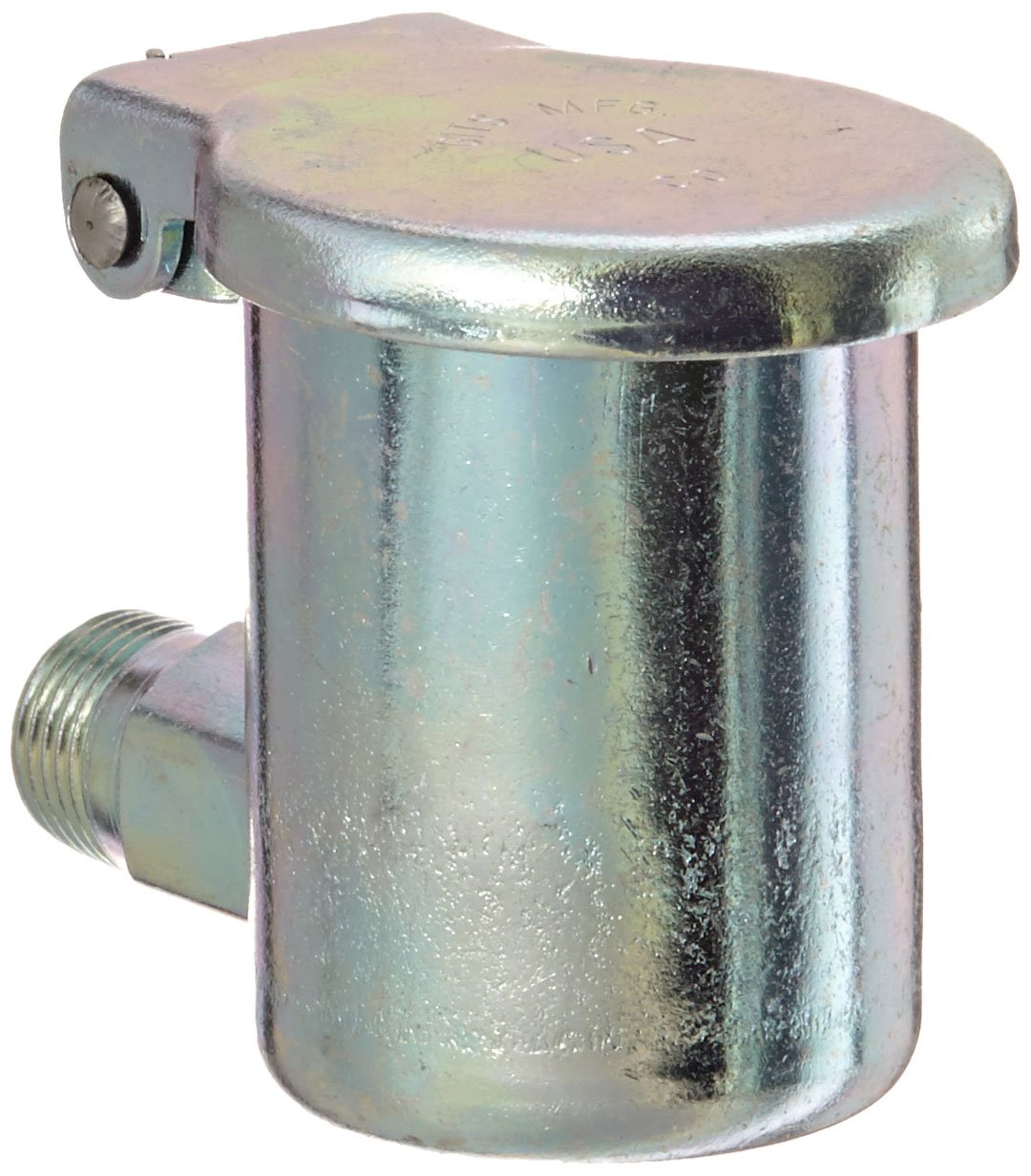 Gits 00803 Oil Hole Covers and Cup, Style Y Elbow, 1/8''- 27 Male NPT, 1-7/16 Overall Height, 2-5/8 Assembly Clearance