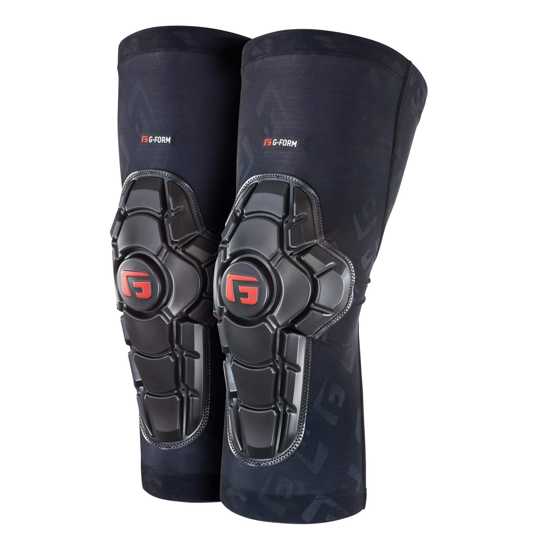 G-Form Pro X2 Knee Pad(1 Pair), Black Logo, Adult X-Large