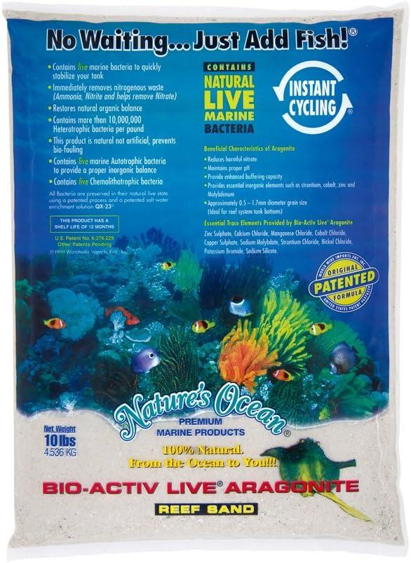 mejor arena para acuario