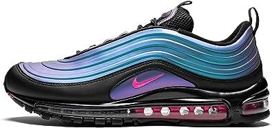 Amazon.com: Nike Air Max 97 Lx (Black/Laser Fuchsia 5): Shoes