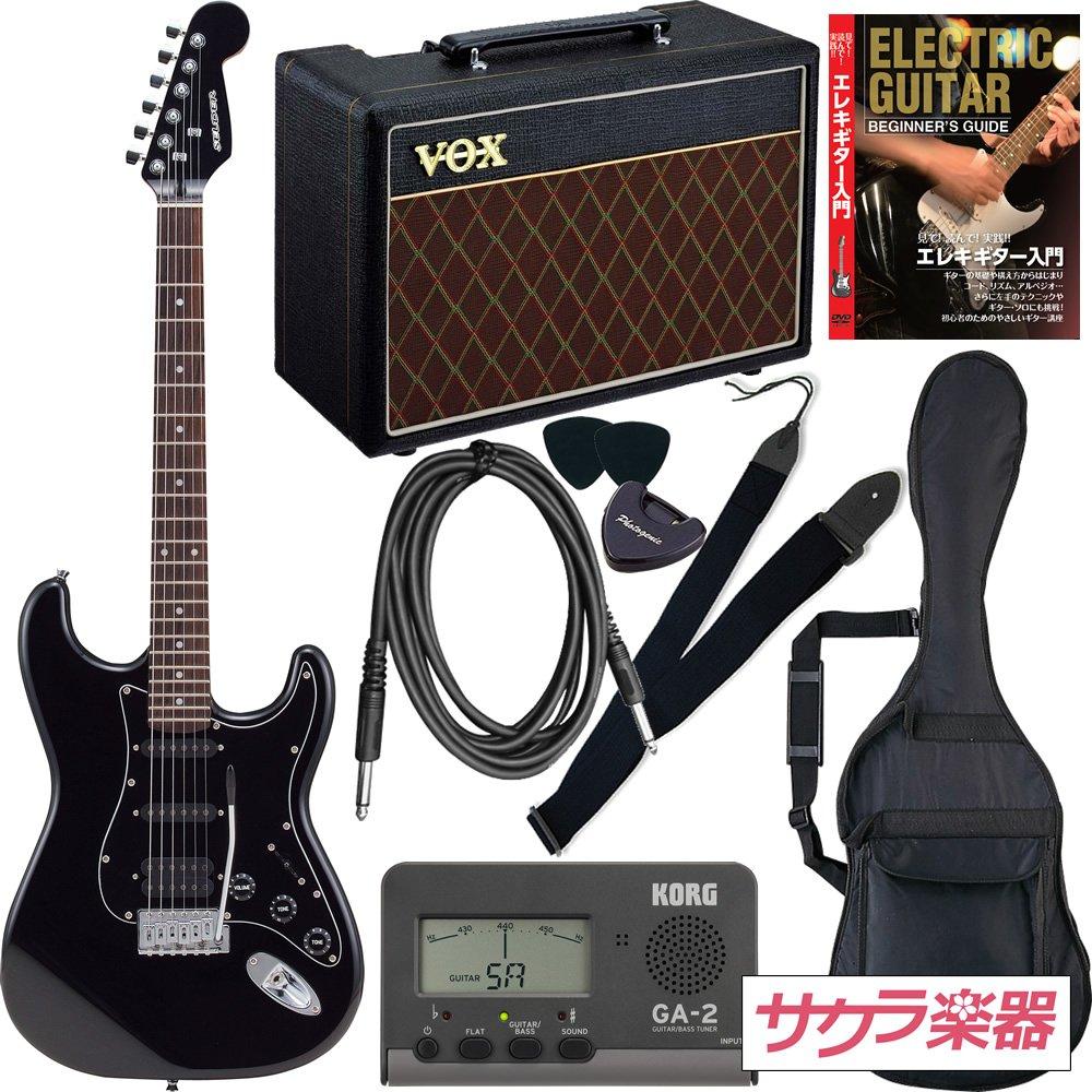 ●日本正規品● SELDER セルダー セルダー VOXアンプ付属 エレキギター ストラトキャスタータイプ サクラ楽器オリジナル STH-20 B01IK8AB34/HBK VOXアンプ付属 スーパーリミテッドセット HBK:ブラック B01IK8AB34, 【オープニング 大放出セール】:227b69dd --- suprjadki.eu