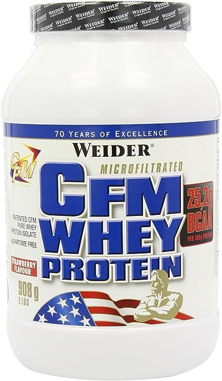Weider CFM Whey Protein, Fresa - 908 gr