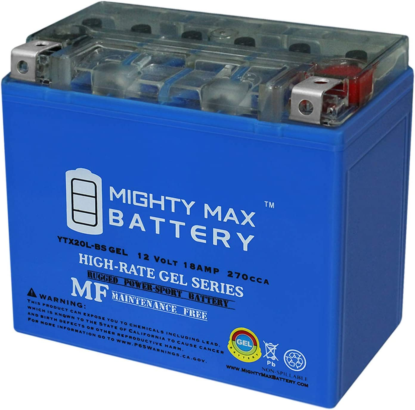 Commander 1000CC UTV Replacement Battery Can-Am BRP 2011-2018