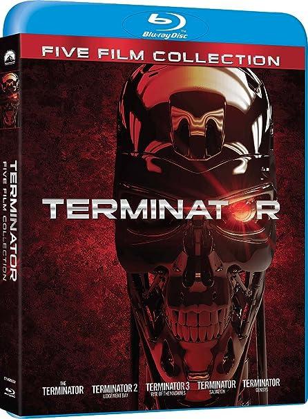 Terminator - Complete Collection 5 Blu-Ray Italia Blu-ray: Amazon ...