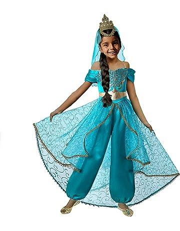 bbc4bc483 ... Vestido Niña Traje Adventure Infantil para Carnaval Halloween Cosplay.  29. Pettigirl Niña Lentejuela Clásico Princesa Vestirse