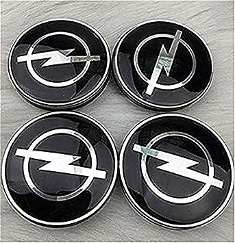 fanlinxin - 4 tapacubos de 65 mm con diseño de Opel para Coche