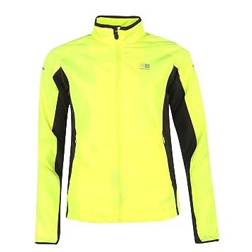 Karrimor Hi Viz Sports Jacket for Women Autumn Winter 2016. Yellow and  Reflective for Safety. Cycling Running Training. Showerproof facf619da
