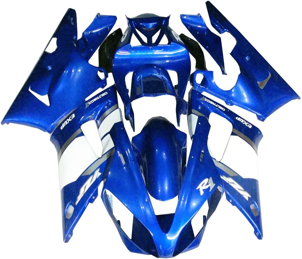 NT FAIRING Unpainted Injection Mold Fairing Kit Fit for YAMAHA 2000 2001 YZF R1 Bodywork 00 01