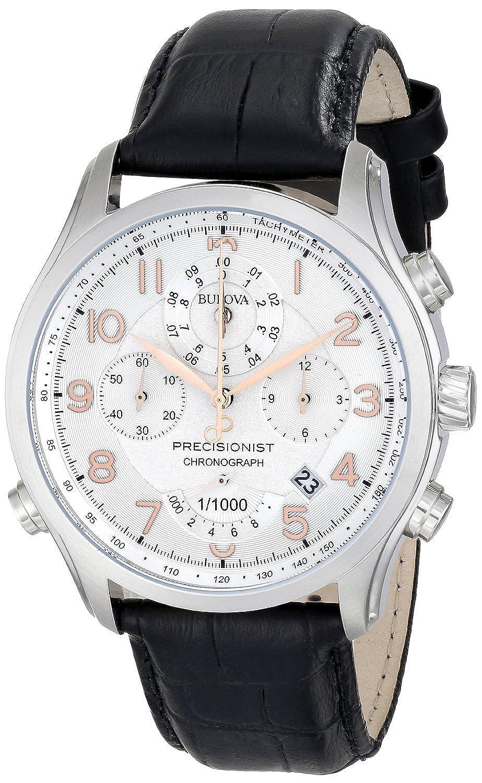 ブローバ Bulova Men's 96B182 Precisionist Chronograph Stainless Steel Watch [並行輸入品] B00XUGENAY