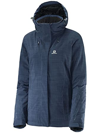 2db54afe4ee5 Salomon Women s Icestorm Jacket XL BLUE  Amazon.co.uk  Sports   Outdoors