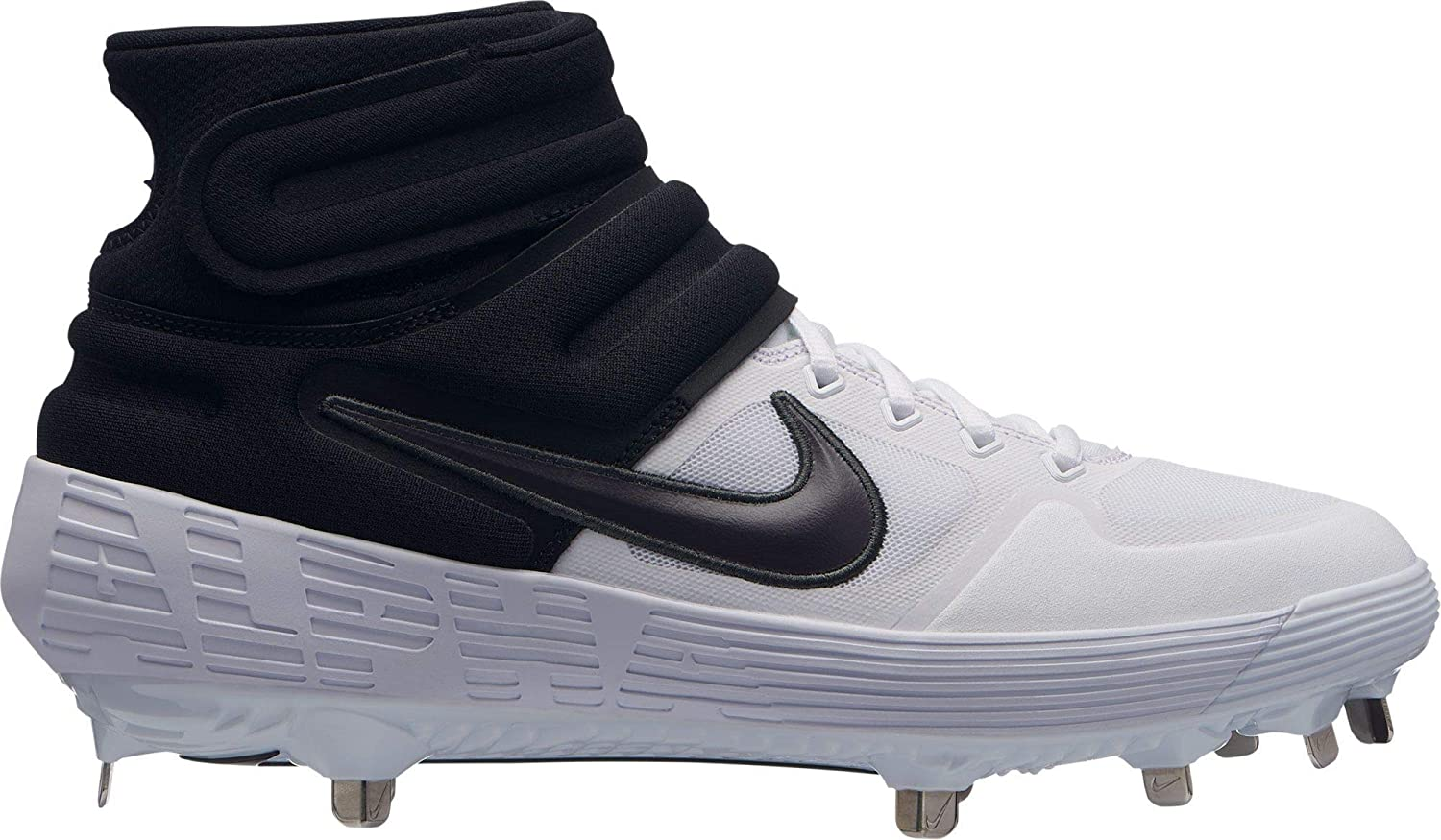 c83ee98f607 Amazon.com  Nike Men s Alpha Huarache Elite 2 Mid Baseball Cleats  Shoes