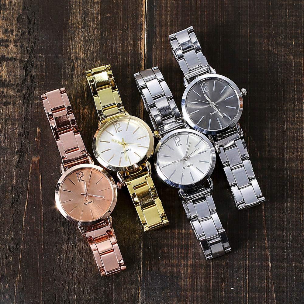 Hot Sal.firally Reloj de Mujer de Cuarzo Casual de Acero Inoxidable con Correa de mármol con Reloj Analógico wristwatches Relojes de Pulsera Relojes para ...