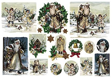 Immagini Natale Vittoriano.Amazon Com Renkalik Renkalikqsipr143 35 X 50 Cm Natale Vittoriano