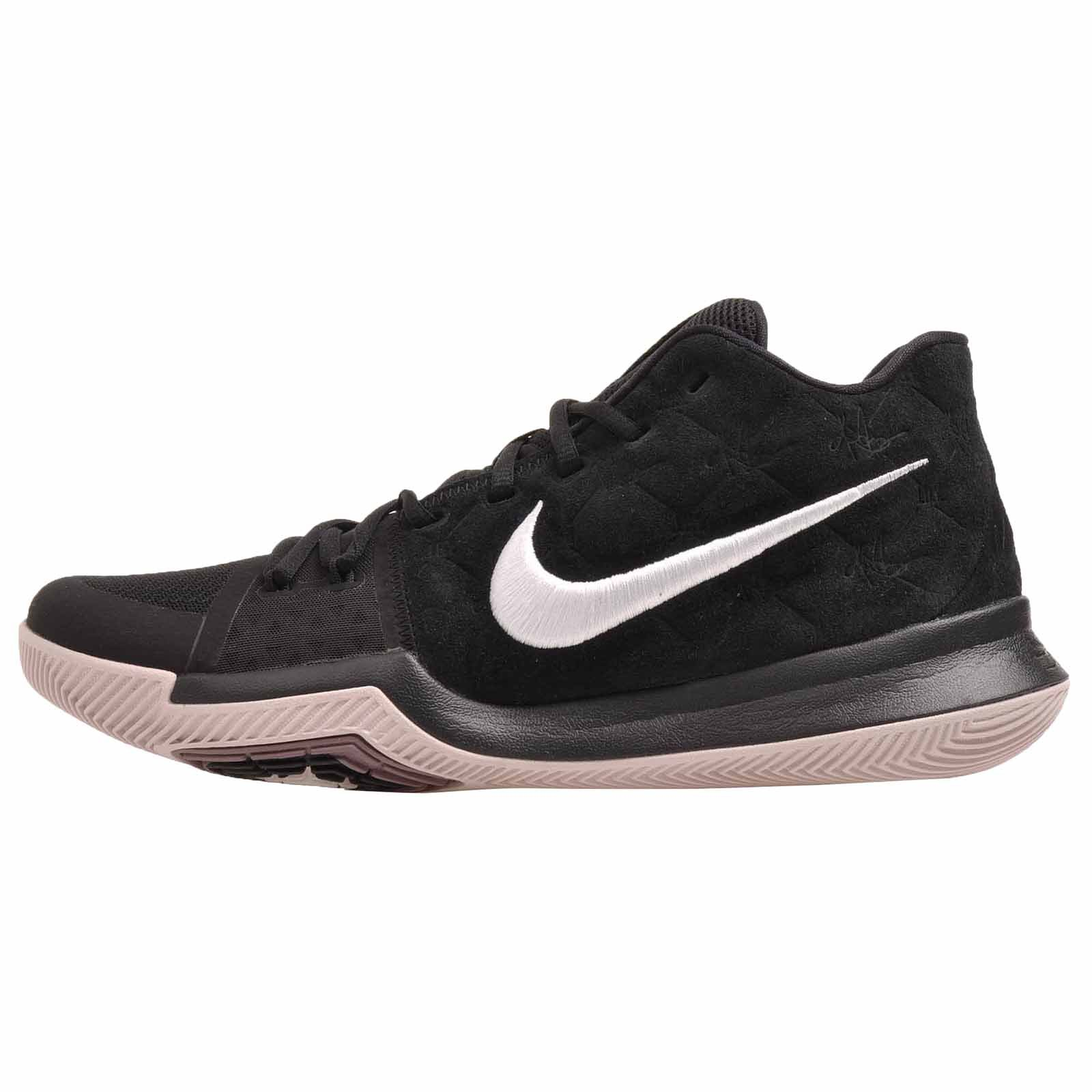 free shipping 06b7e a1f0e Nike Kyrie 3 Basketball Shoes Mens Kyrie Irving Black/White-Silt Red New  852395-010 - 11.5
