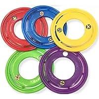 Pack 5 Invasor Disco de Lanzamiento Frisbee Abierto de 28.5 cm