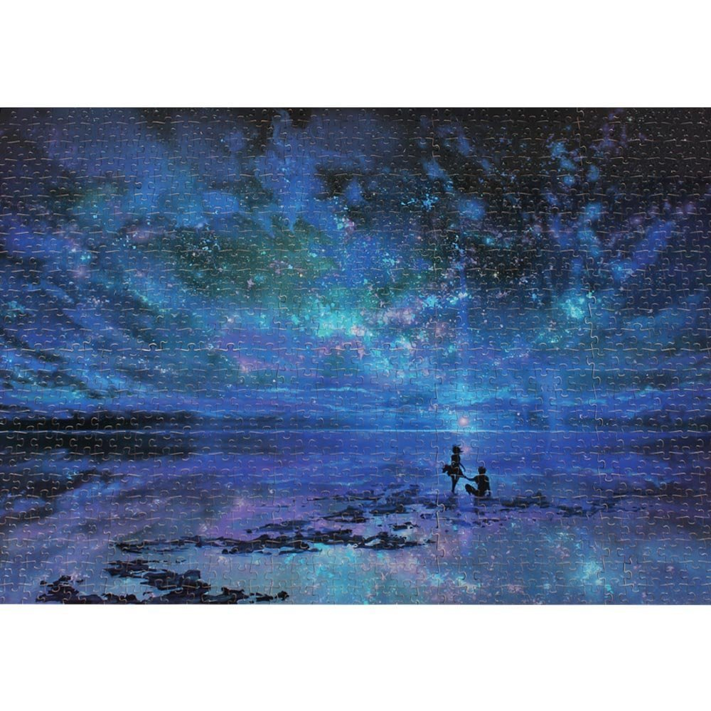 1000 Pieces Jigsaw Puzzle for Kids Adult Man Women Teens Reduced Pressure Toy Gift(1000 Piece Jigsaw PuzzleStar Sea) CHengQiSM