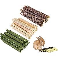picidae Hamster Chew Toys Natural Apple Sticks Bunny Apple Sticks Natural Apple Wood Sticks Branches Snacks Clean Teeth…