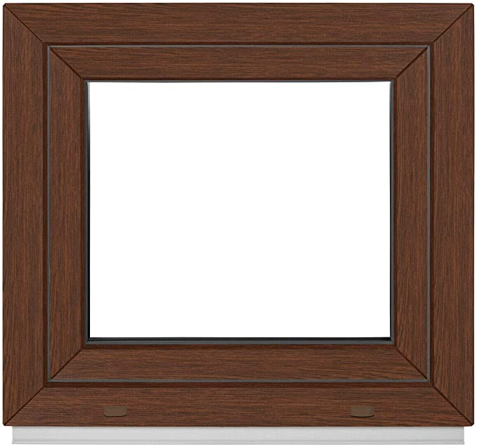 Premium Kunststoff Dreh-Kipp BxH:55x70 cm DIN Links Kellerfenster ALLE GR/Ö/ßEN 2 fach Verglasung - Fenster PVC wei/ß
