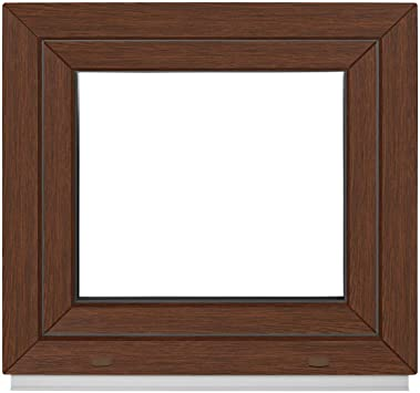 wei/ß BxH:40x70 cm DIN Links Premium 2 fach Verglasung ALLE GR/Ö/ßEN Kellerfenster Dreh-Kipp PVC - Fenster Kunststoff