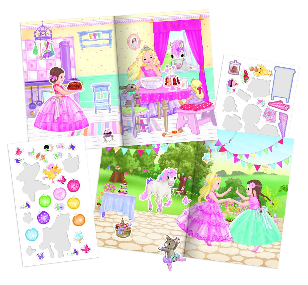 Album Stickers Enfant Mimi Princesse Neuf Top Model My Style Princess