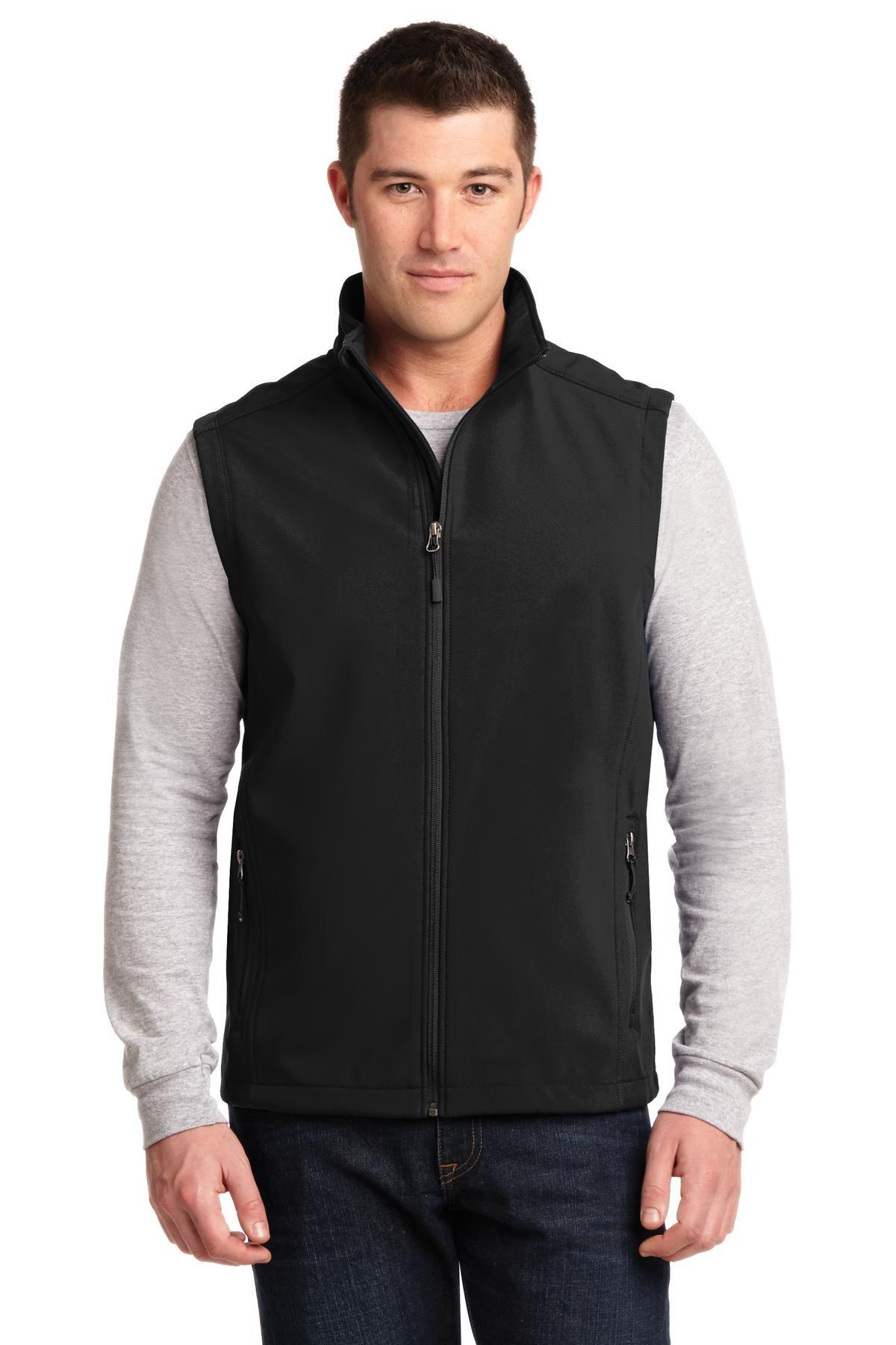 Port Authority Men's Core Soft Shell Vest 3XL Black by Port Authority