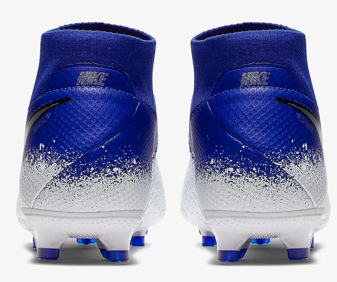 Nike Phantom Vision Pro Dynamic Fit FG Soccer Cleats (M13/W14.5, Blue/White) 71X4XZrLUPL