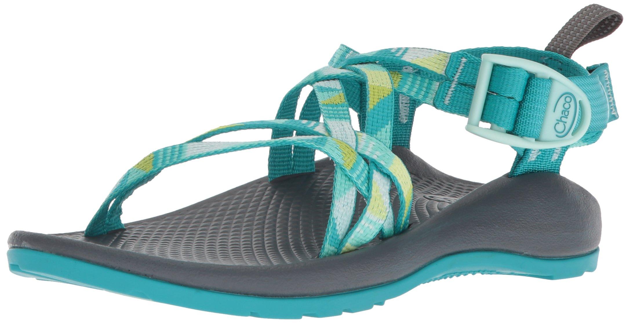 40bc6b93dd96 Galleon - Chaco Girls  ZX1 Ecotread Kids Sport Sandal Puzzle Opal 10 Medium  US Toddler