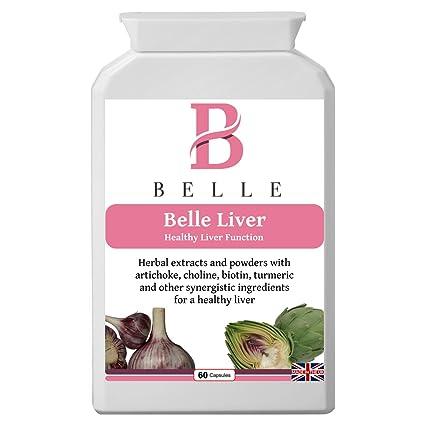 Belle® suplemento de hígado - para el sano hígado y soporte de la vesícula biliar