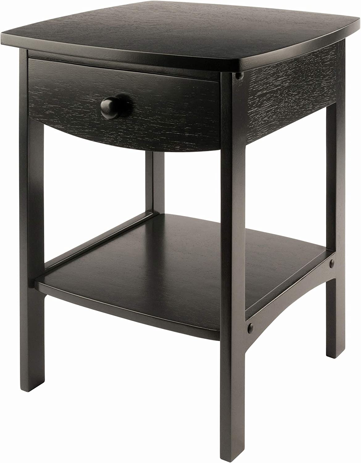 - Amazon.com: Winsome Wood Claire Accent Table, Black: Kitchen & Dining
