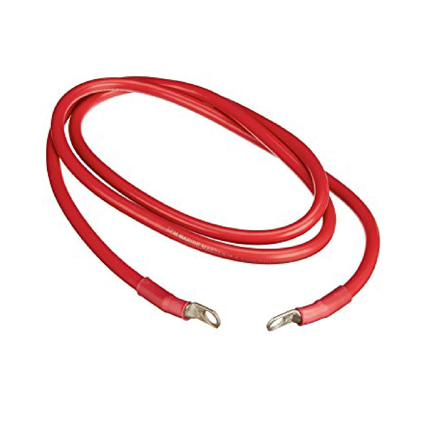 Positive Red Battery Earth Strap 760mm 30 Inch Switch Starter Cable Car Flexi Lead