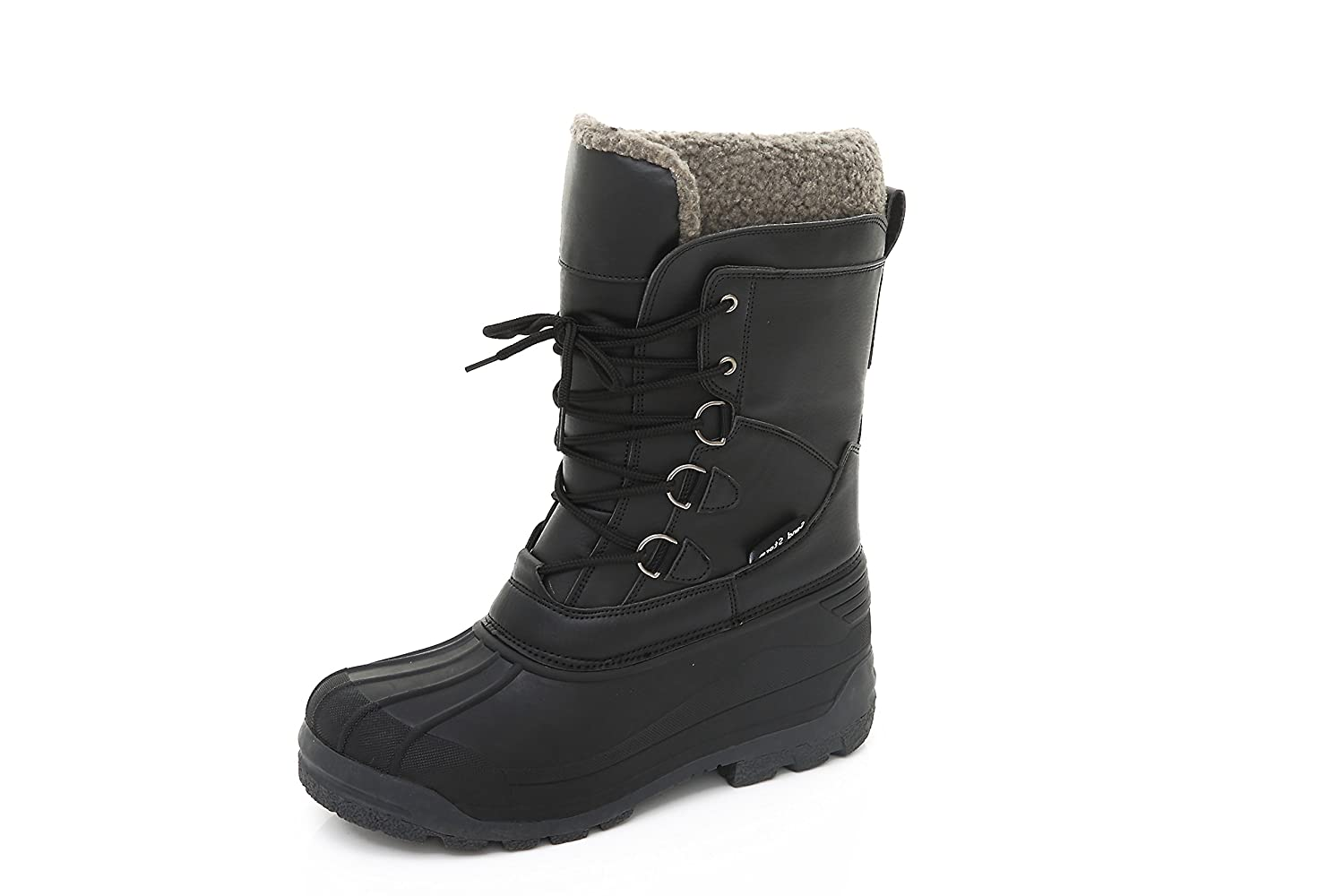 Sand Storm Womens Insulated Winter Snow Boots - Lace-up Closure Comfortable Weatherproof Warm Ladies