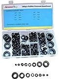 Accessbuy 180-Piece Rubber Grommet Shop Assortment