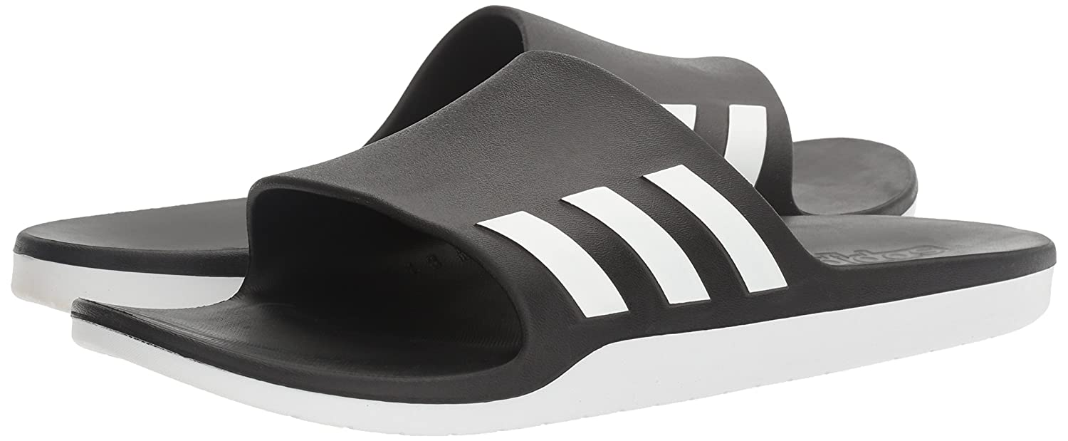5e917d8ff6a Adidas Unisex Aqualette Cloudfoam Slides  Amazon.ca  Shoes   Handbags