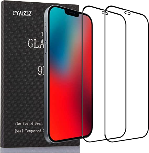 Amazon Com Hyaizlz Screen Protector Compatible With Iphone 12 Mini Tempered Glass Film Replacement For Iphone 12 Mini Anti Scratch Hd Clarity 2 5d 2pcs