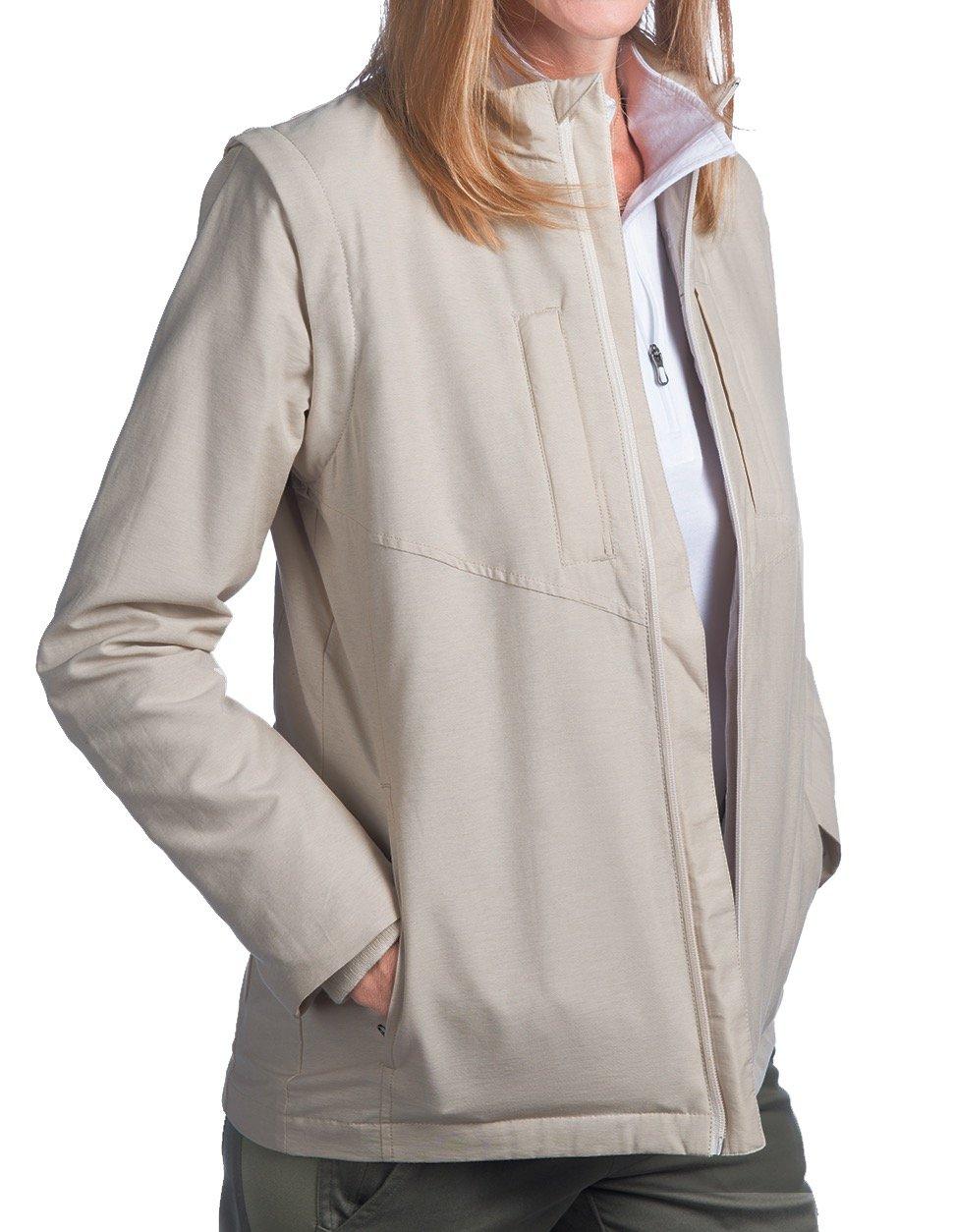 SCOTTeVEST Women's Standard Jacket - 25 Pockets - Travel Clothing, Pickpocket Proof BGE L