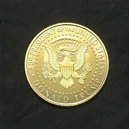 Faironly Trump Relief Imitación Litecoin Metal Medalla ...