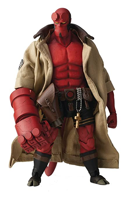 Amazon Com 1000 Toys Hellboy Standard Version 1 12 Scale Af Toys