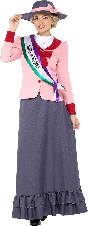 Smiffys - Disfraz de sufragista victoriana de lujo: Amazon.es ...