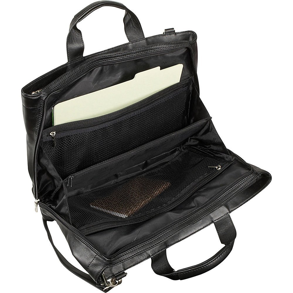 Bellino Express Softside Leather Briefcase Preferred Nation 6088 337431-6571381
