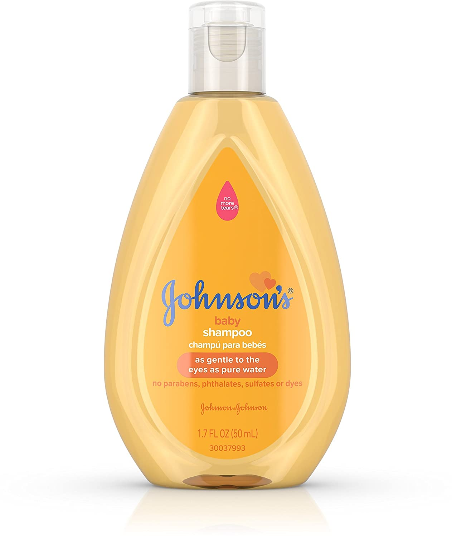Johnson's Baby Shampoo with Gentle Tear Free Formula, Travel Size, 1.7 fl. oz J&J