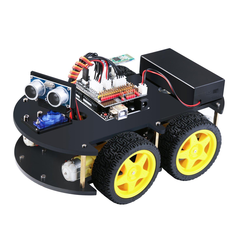 Amazon Elegoo EL KIT 012 UNO Project Smart Robot Car Kit V 3 0