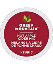 Green Mountain Hot Apple Cider Single Serve Keurig Certified Recyclable K-Cup pods for Keurig brewers, 24 Count