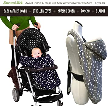 Amazon Com Stroller Cover And Baby Carrier Cover Double Fleece