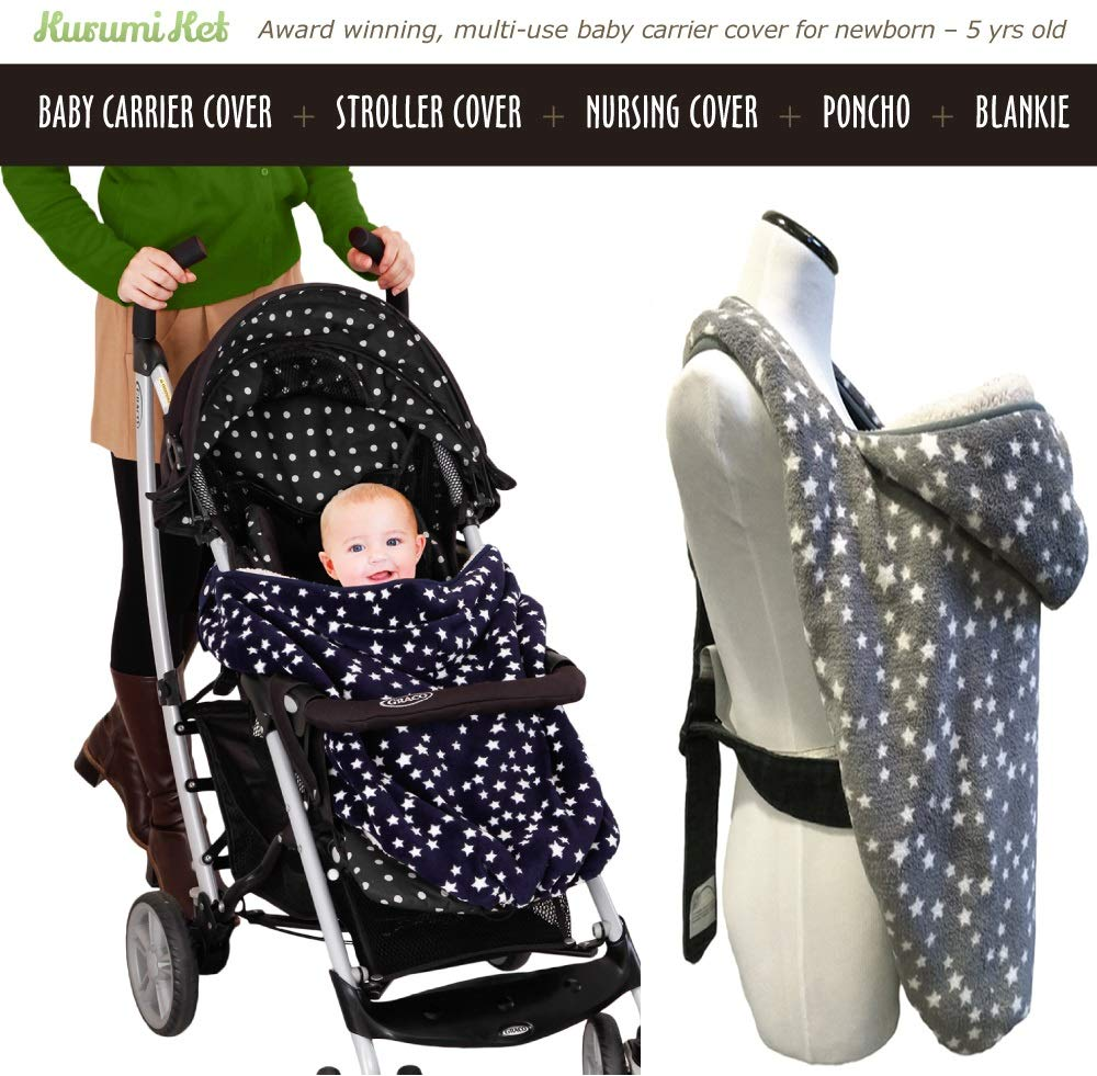 57d086e340b Stroller Cover and Baby Carrier Cover. Double Fleece Winter Cover - Fits  Onto All Carriers
