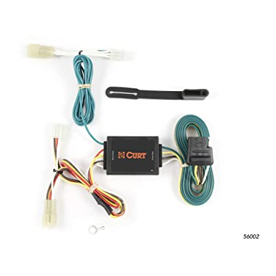 CURT 56002 Vehicle-Side Custom 4-Pin Trailer Wiring Harness for Select Suzuki Grand Vitara SUV, Suzuki SX-4 Sportback: Automotive