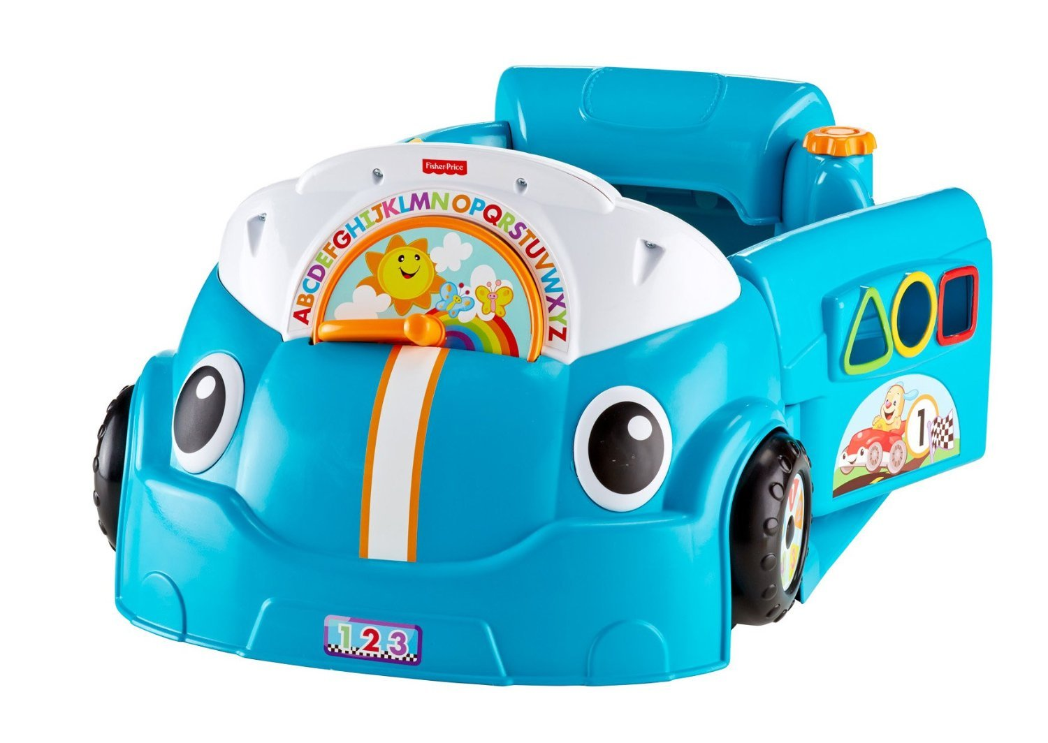 Fisher-Price Laugh & Learn Smart Stages Crawl Around Car, Blue by Fisher-Price (Image #14)