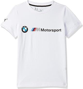 PUMA T-Shirt BMW M Motorsport Logo pour garç