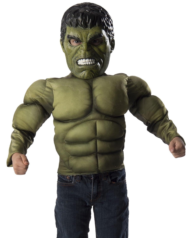 Marvel The Hulk Costume Muscle Chest Shirt Set