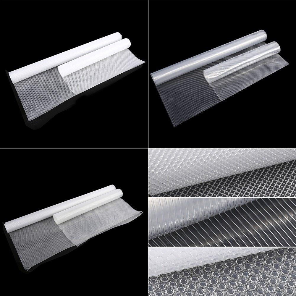 Caj/ón Liner EVA no es adhesivo transparente Alfombrilla Antideslizante para cajones de maletero Home armario armario estanter/ía #1 120*30cm
