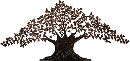 Urban Designs Handcrafted Tree of Life Large Metal Wall Art Decor
